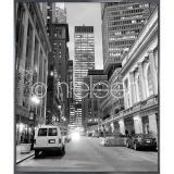 """Thumbnail von Gerahmte Kunst """"New York Downtown"""" mit Alurahmen Alpha"""