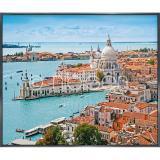 "Thumbnail von Gerahmte Kunst ""Venice Santa Maria"" mit Alurahmen Alpha"