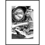 "Thumbnail von Gerahmtes Bild ""Car Chrome"" mit Alurahmen C2"