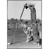 """Thumbnail von Gerahmte Kunst """"Golfer"""" mit Alurahmen Alpha"""