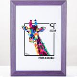 Thumbnail von Holz-Bilderrahmen Rainbow Lila
