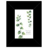 Variante schwarz von Holz-Bilderrahmen Lahti