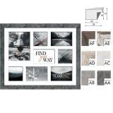 Thumbnail von Galerie-Bilderrahmen YELLOWSTONE für 8 Bilder