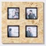 Thumbnail von 4er Holz-Galerierahmen CHIP braun-schwarz