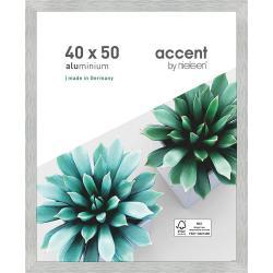 Bilderrahmen Alu-Bilderrahmen Star Silber matt 40x50 cm