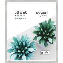 Bilderrahmen Alu-Bilderrahmen Star Silber matt 50x60 cm