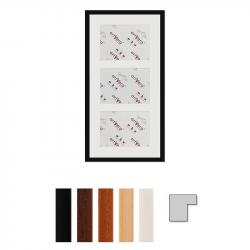 """3er Galerierahmen """"Uppsala"""", 30x60 cm - 15x20 cm"""