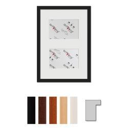 "Bilderrahmen 2er Galerierahmen ""Lund"", 25x35 cm - 10x15 cm"