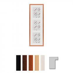 "Bilderrahmen 3er Galerierahmen ""Lund"", 25x80 cm - 15x20 cm"