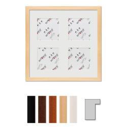 "Bilderrahmen 4er Galerierahmen ""Lund"", 30x30 cm - 10x10 cm"