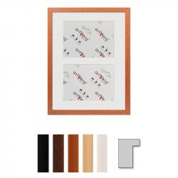 "Bilderrahmen 2er Galerierahmen ""Lund"", 30x40 cm - 15x20 cm"