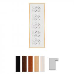 "Bilderrahmen 5er Galerierahmen ""Lund"", 30x90 cm - 13x18 cm"