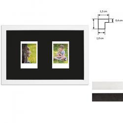 Bilderrahmen Bilderrahmen für 2 Sofortbilder - Typ Instax Mini