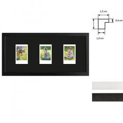 Bilderrahmen Bilderrahmen für 3 Sofortbilder - Typ Instax Mini