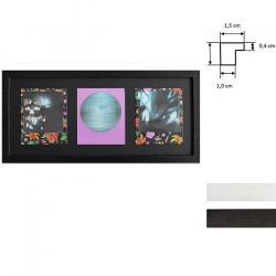 Bilderrahmen Bilderrahmen für 3 Sofortbilder - Typ Polaroid 600