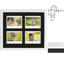 Bilderrahmen Bilderrahmen für 4 Sofortbilder - Typ Instax Wide