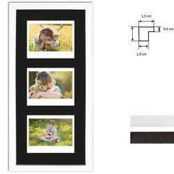 Bilderrahmen Bilderrahmen für 3 Sofortbilder - Typ Instax Wide