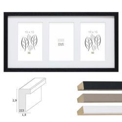 3er-Galerierahmen Tongeren für 10x15 cm