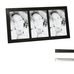 Aluminium-Fotobilderrahmen 3 Ausschnitte