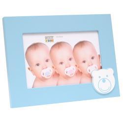 Baby-Fotorahmen mit Bärmuster