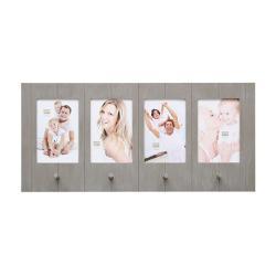 Galerie-Bilderrahmen Ulbeek für 4 Bilder mit Haken