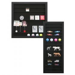 Praktische Setzkasten in schwarz für vielerlei Objekte