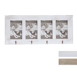 Galerie-Bilderrahmen Opitter für 4 Bilder mit Haken