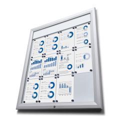 Bilderrahmen LED Schaukasten für den Außeneinsatz