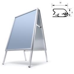 Bilderrahmen Kundenstopper Standard 32 mm