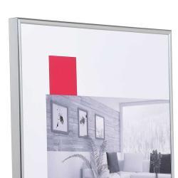 Bilderrahmen Kunststoff-Bilderrahmen ART Silber