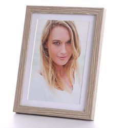 Bilderrahmen Portraitrahmen mit Passepartout 13x18 cm (15x20 cm)