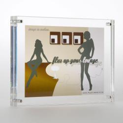 Frame aus Acrylglas für 10 x 15 cm