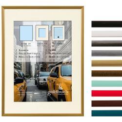 Kunststoff-Bilderrahmen Puro mit Passepartout