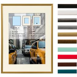 Bilderrahmen Kunststoff-Bilderrahmen Puro mit Passepartout