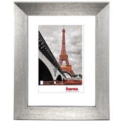 "Bilderrahmen Kunststoffrahmen ""Paris"" Silber"
