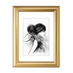 Bilderrahmen Kunststoff-Bilderrahmen Sofia Gold