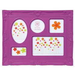 Bilderrahmen Galerierahmen Colour Barock Violett