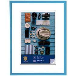 Bilderrahmen Kunststoff-Bilderrahmen Napoli hellblau