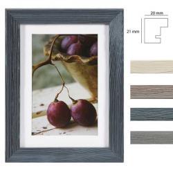 Bilderrahmen Holz-Bilderrahmen Deco mit Passepartout