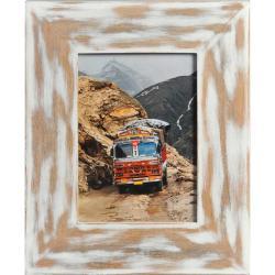 Bilderrahmen Holz-Bilderrahmen India Weiß