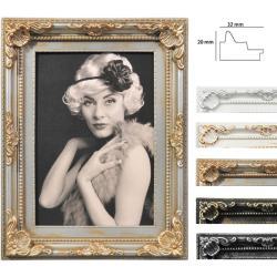 Bilderrahmen Kunststoff-Bilderrahmen Antique Barock