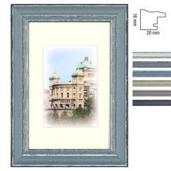 Holz-Bilderrahmen Capital Bern mit Passepartout