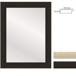 Bilderrahmen Wandspiegel WOODSTYLE - 50x70 cm