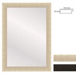 Bilderrahmen Wandspiegel WOODSTYLE - 60x90 cm
