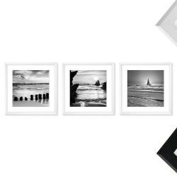 Bilderrahmen Galerie inkl. Poster Beach