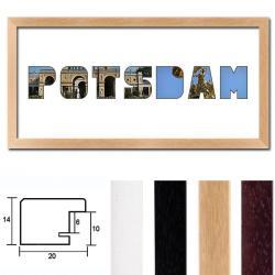 """Regiorahmen """"Potsdam"""" mit Passepartout"""
