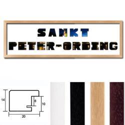 """Regiorahmen """"St. Peter-Ording"""" mit Passepartout"""