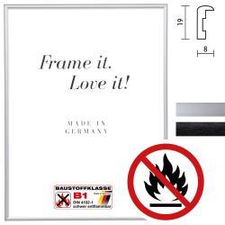 Bilderrahmen Zertifizierter Standard B1 Brandschutzrahmen Econ rund