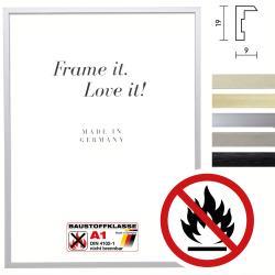 Bilderrahmen Klassifizierter Standard A1 Brandschutzrahmen Econ eckig