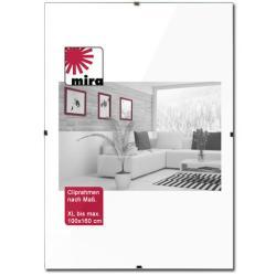 Bilderrahmen Cliprahmen - Maßanfertigung bis 100x160 cm